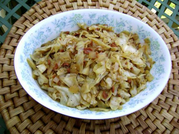 Saya's Accidental Low-Fat Warm (Or Cold) Cabbage Salad