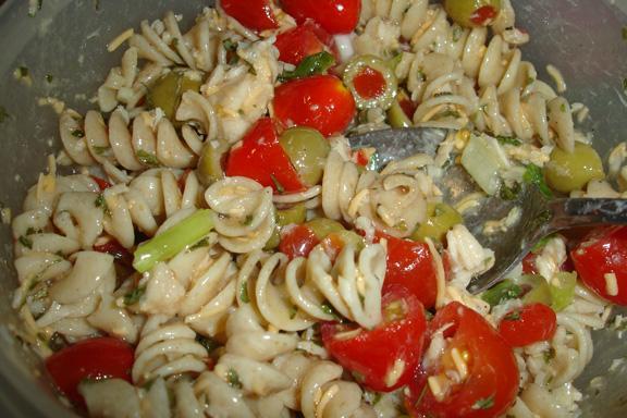 Tangy Tuna Pasta Salad