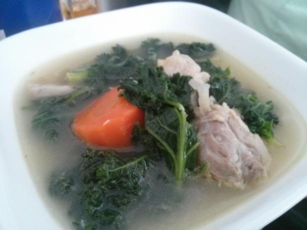 Chicken Kale Soup