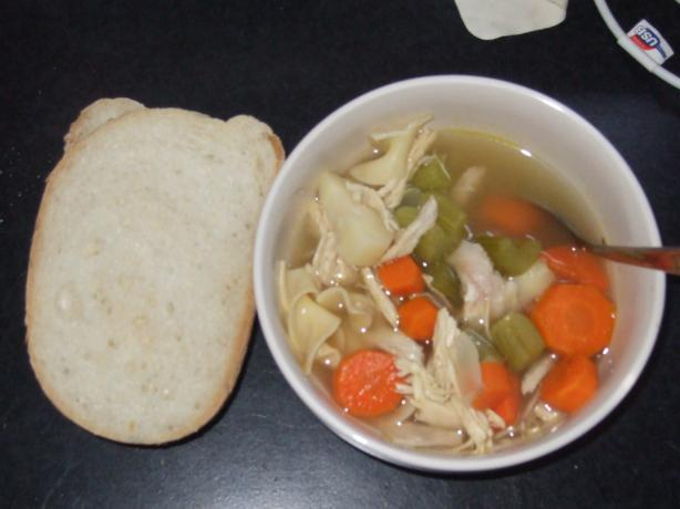 Favorite Chicken Noodle Soup