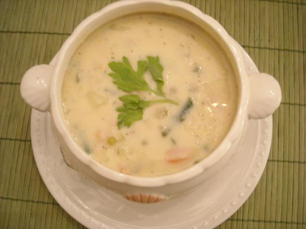 Leftover Salmon Fillet Chowder