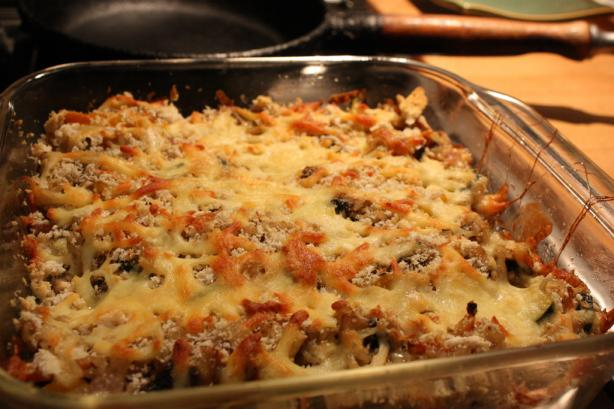 Brown Rice Gratin