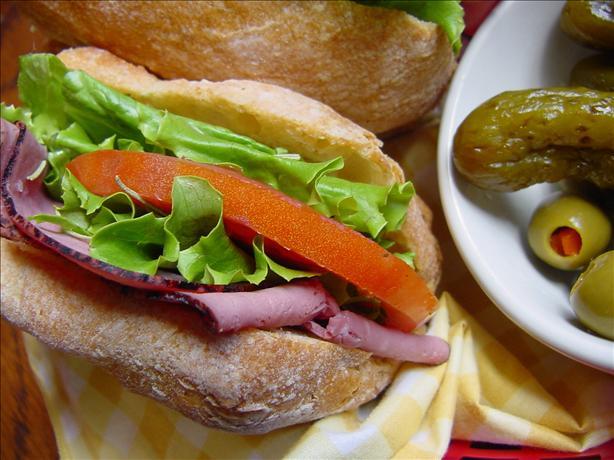 Roast Beef Sandwiches With Horseradish Mayonnaise
