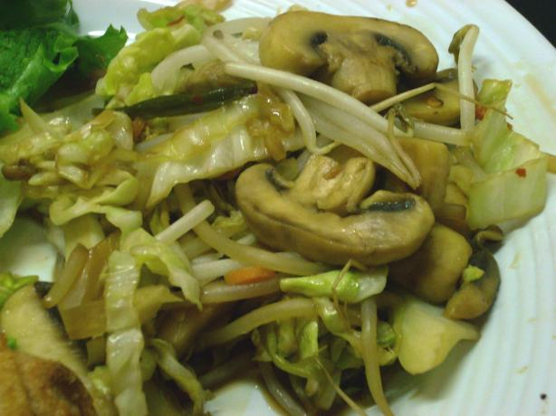 On Your Way to Five a Day Stir-Fry