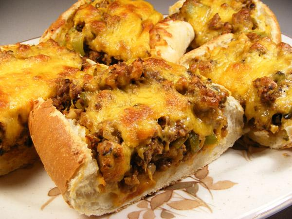 Beef 'n' Cheese French Bread
