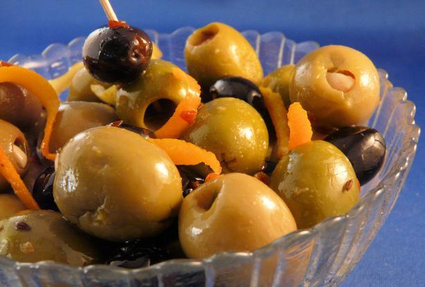 Baked Olive Appetizer
