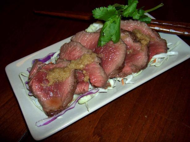Rare Beef Vietnamese Style