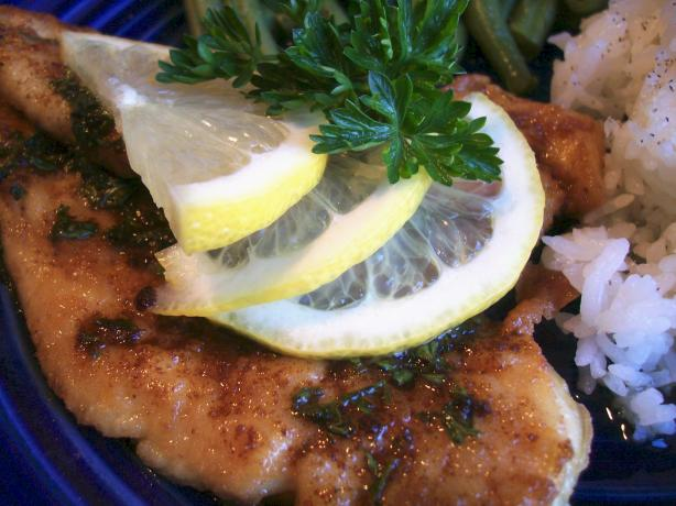 Melt in Your Mouth Lemon Chicken
