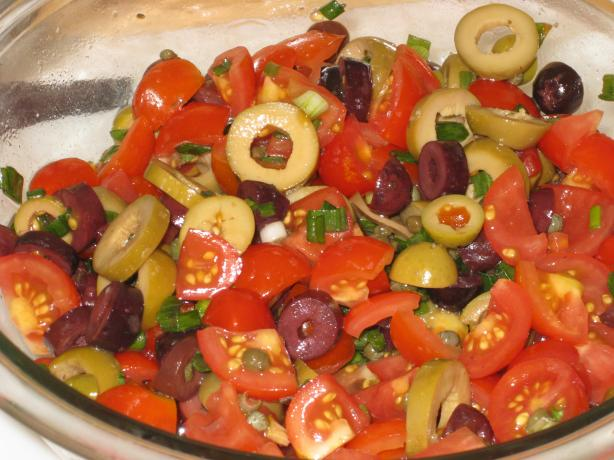 Olives and Tomato Salad