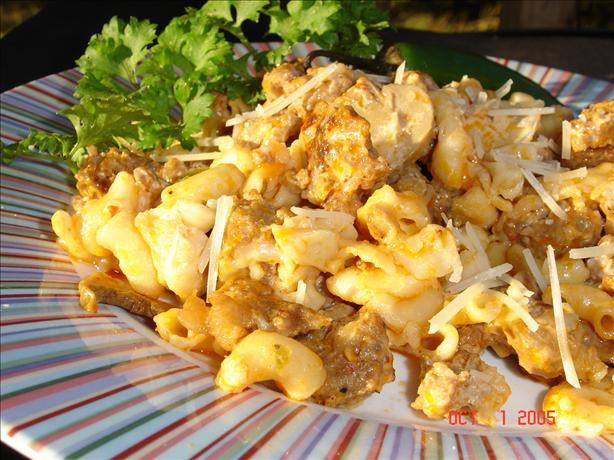 Macaroni & Hot Italian Sausage