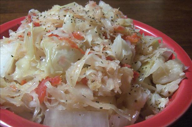 Cabbage and Sauerkraut for the Crock Pot