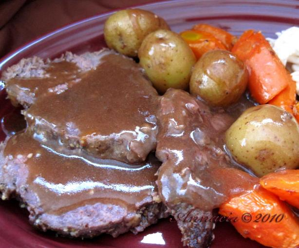 Best-Ever Roast Beef With Vegetables