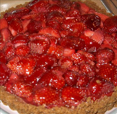 Gingered Strawberry Tart