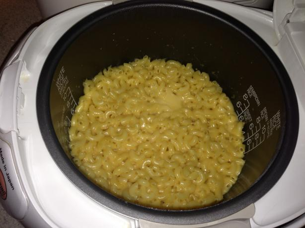 Mac and Cheese Rice Cooker Recipe