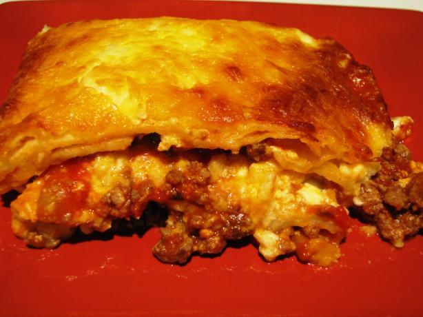 Texas Style Lasagna