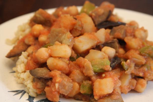 Egyptian Eggplant Dish (Masaa'a)