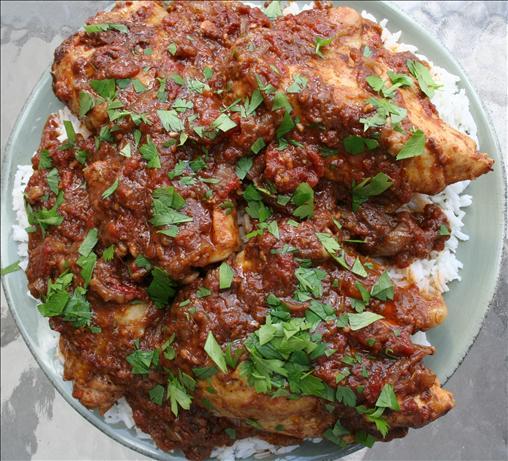 Indian Kadai Chicken