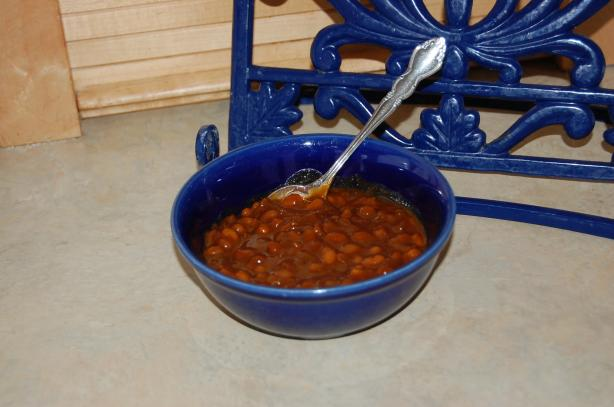 Easy Stove Top Baked Beans
