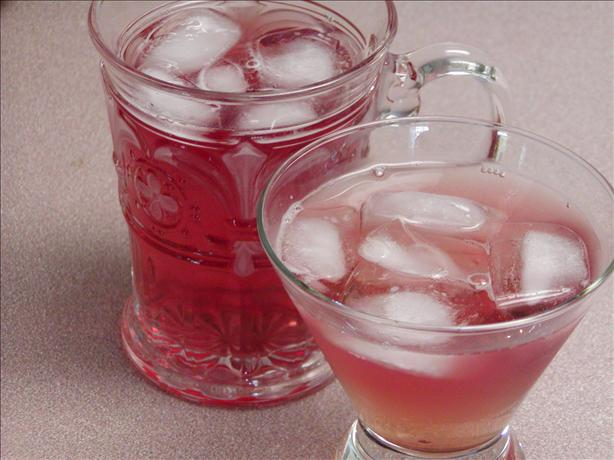 Cran-fizzy Iced Tea