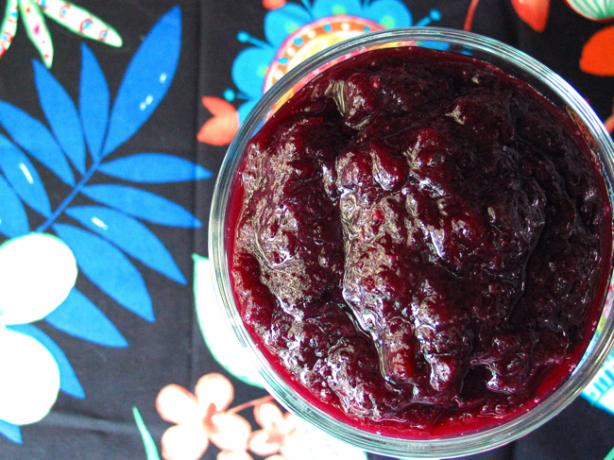 Blueberry Applesauce (Vegan Friendly)
