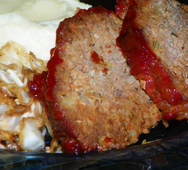 Old Fashioned Meat-Loaf