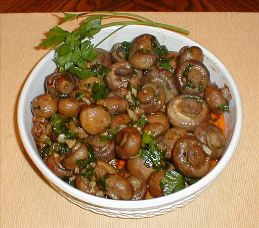 Garlicky Roasted Mushrooms