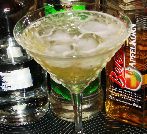 Sue's Apple Martini
