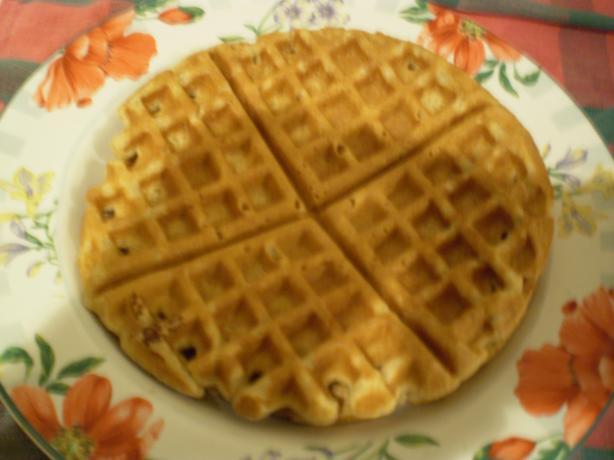 Whole-Grain Honeyed Waffles