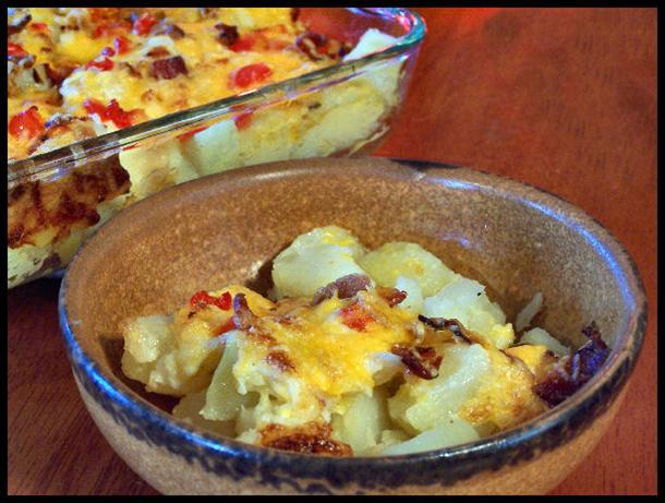 The Ultimate Baked Potato Salad