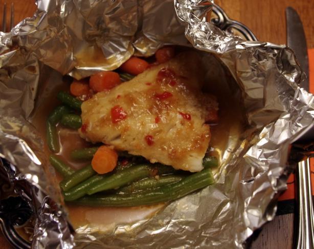 Baked Fish Parcels