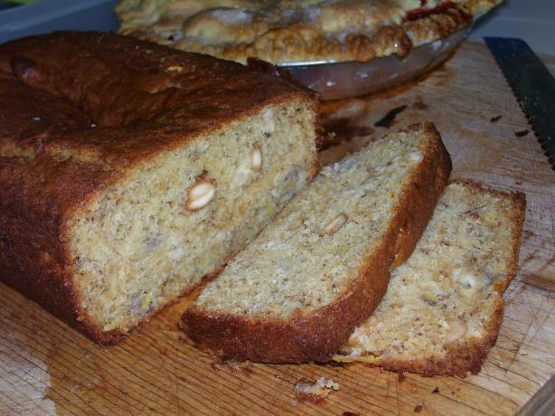 Banana Bread With Cashews (Pao De Banana) - Portuguese Mozambiq