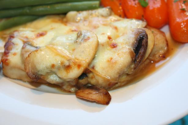 Chicken Breast With Mozzarella Cheese