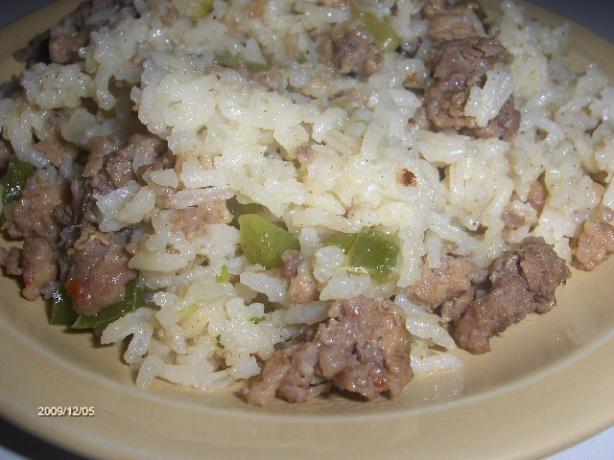 Sausage and Rice Bake