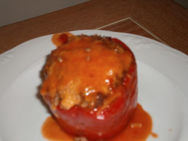 Dutch Oven Stuffed Bell Peppers