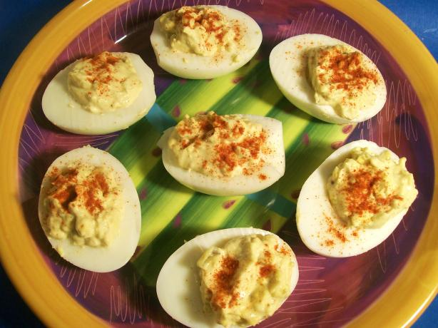 Texas Deviled Eggs