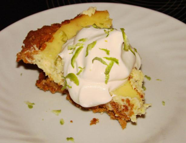 Non-traditional Key Lime Pie
