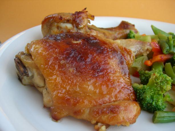 Honey Ginger Roasted Chicken