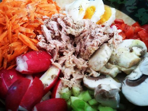 Leafless Salad Nicoise