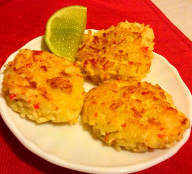 Amazing Crab Rice Cakes