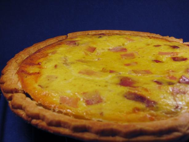 Smoked Ham Pie - Swedish Quiche (Skinkpaj)