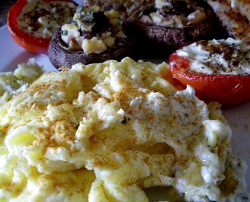 Delish Scrambled Eggs
