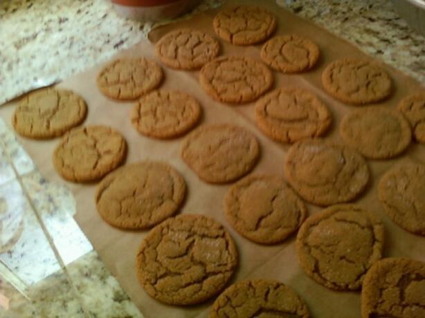 Taku Glacier Lodge Ginger Cookies