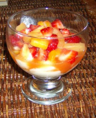 Fruit Salsa Parfaits