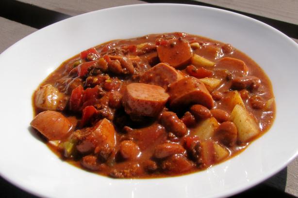 Chili Dog Stew