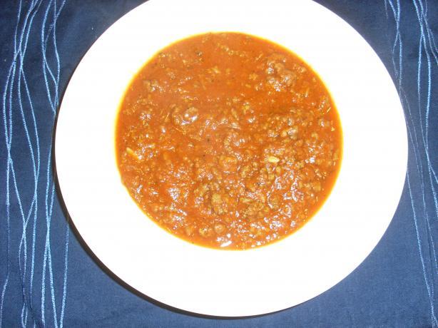 Simple Italian Meat Sauce