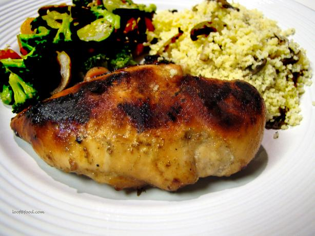 Chicken Breasts With Maple-Whiskey Glaze