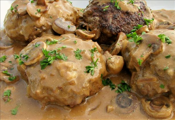 Manly-Man Salisbury Steaks