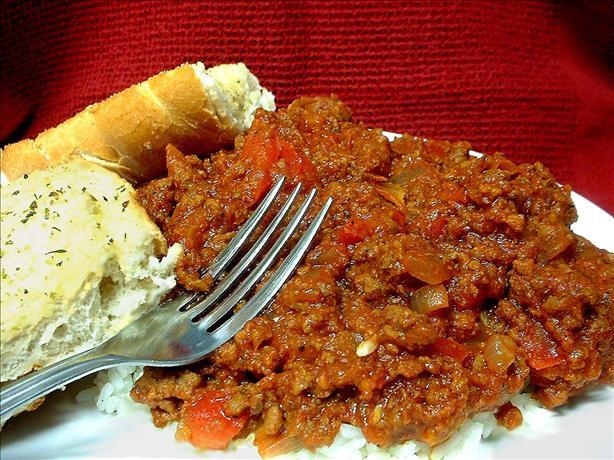 Vicky's Italian Meat Sauce