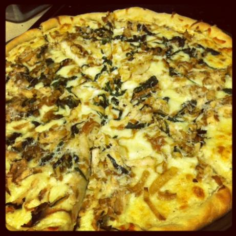 Ranch Alfredo Chicken Pizza #RSC