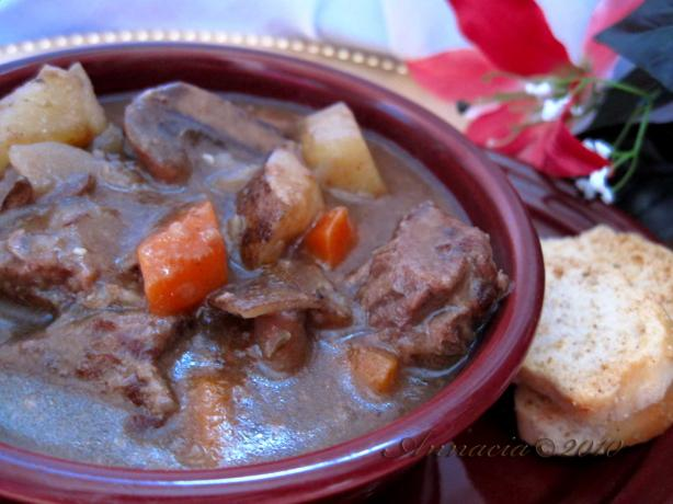 Herb Simmered Beef Stew